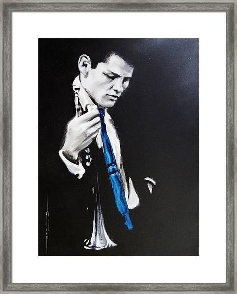 Chet Baker - Almost Blue Framed Print