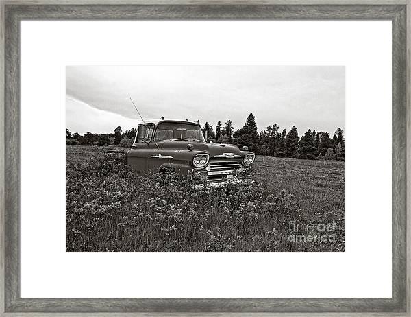 Chevrolet Apache Colorado Framed Print
