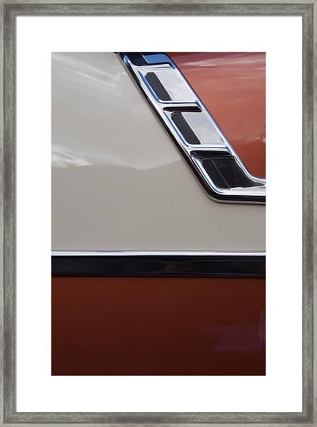 Chevrolet Bel Air Framed Print by W Chris Fooshee