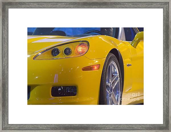 Chevrolet Corvette Framed Print