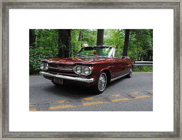 Chevy Corvair Framed Print