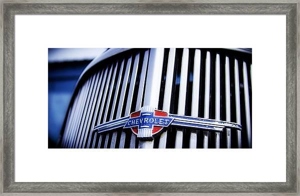 Chevy Fleetline Framed Print