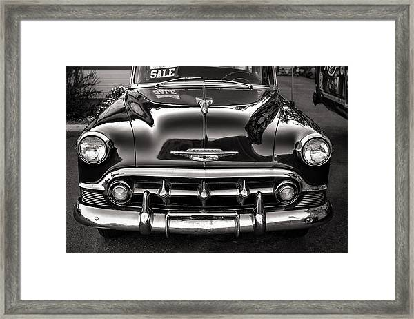 Chevy For Sale Framed Print