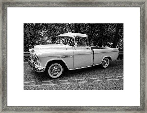 Chevy Pickup Framed Print