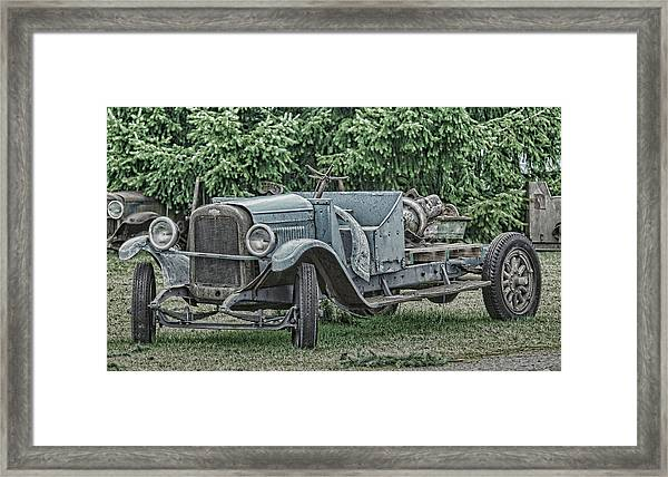 Chevy Truck By Ron Roberts Framed Print