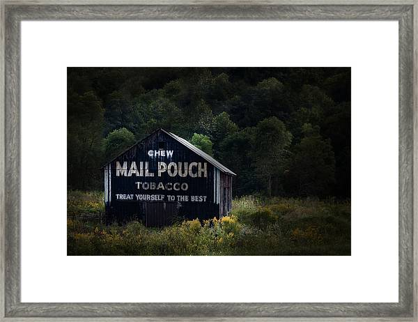 Chew Mailpouch Framed Print