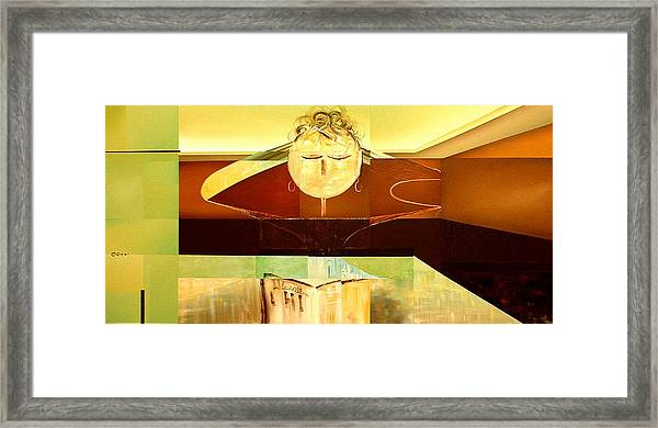 Chi Framed Print by Laurend Doumba