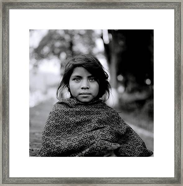 Chiapas Girl Framed Print