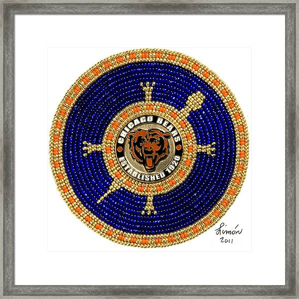 Chicago Bears Framed Print