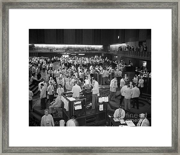 Chicago Board Of Trade 1957 Framed Print