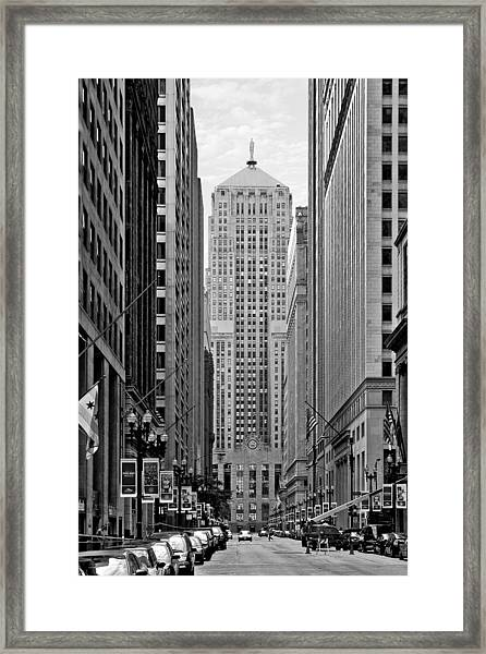 Chicago Board Of Trade Framed Print