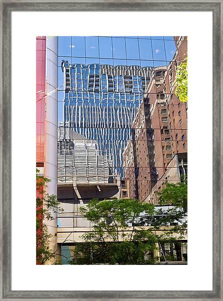 Chicago Buildings Framed Print