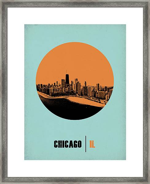 Chicago Circle Poster 2 Framed Print