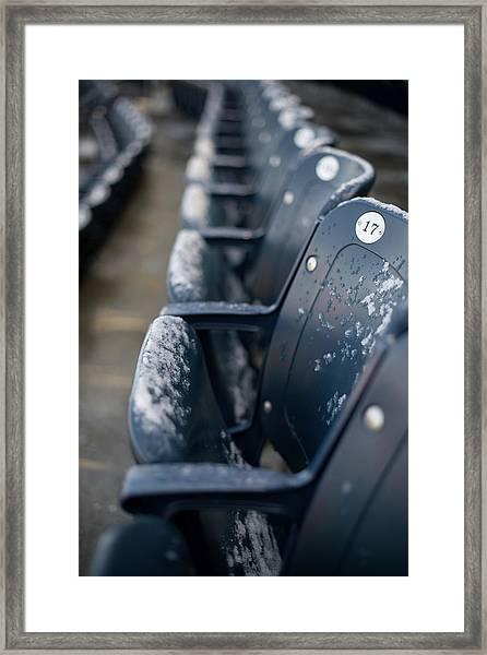 Chicago Cubs V. New York Yankees Framed Print