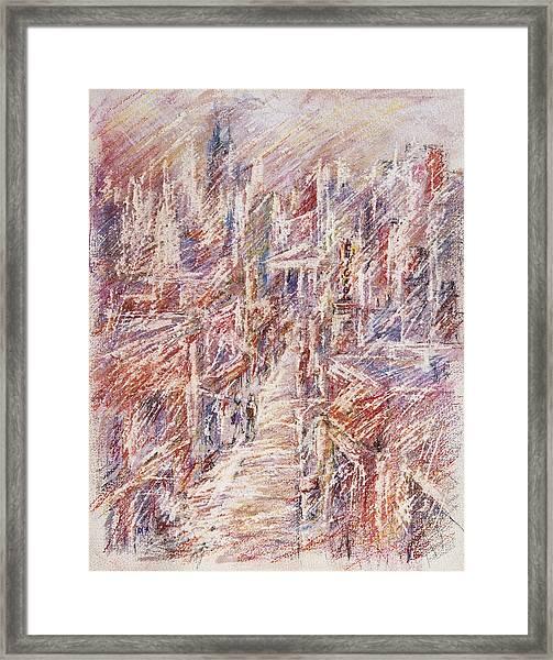 Chicago Girl Framed Print