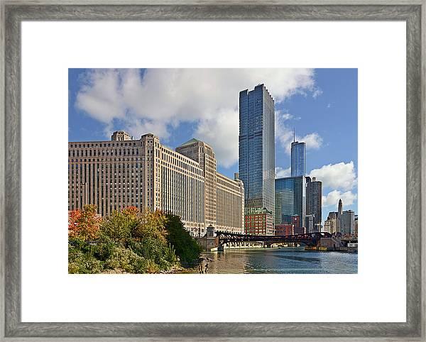 Chicago Merchandise Mart Framed Print