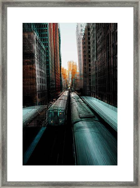 Chicago's Station Framed Print