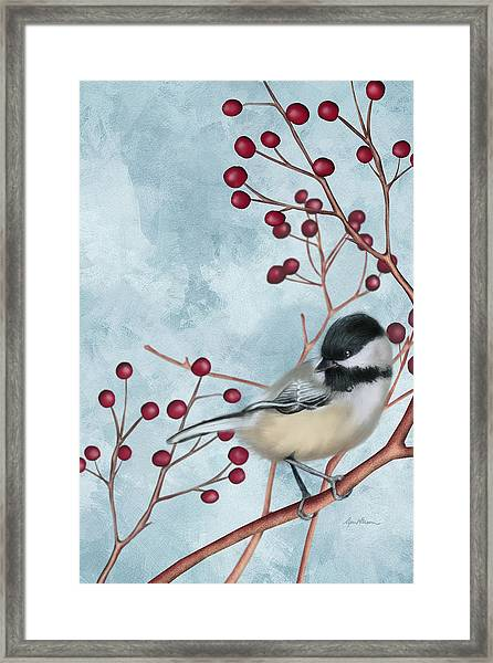 Chickadee I Framed Print