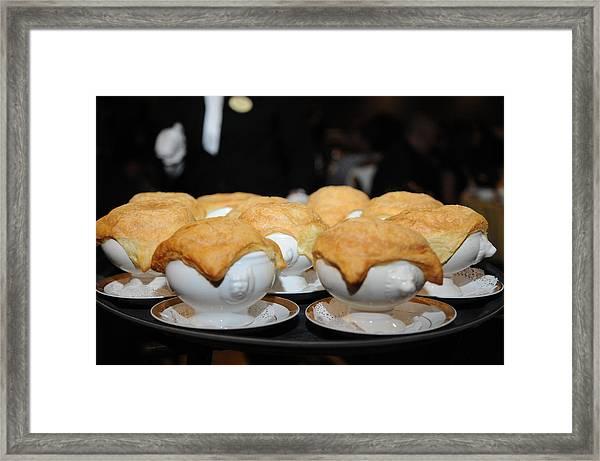 Chicken Pot Pie Framed Print