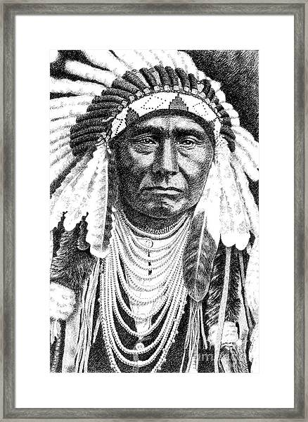 Chief-joseph Framed Print