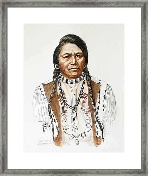 Chief Ouray Framed Print