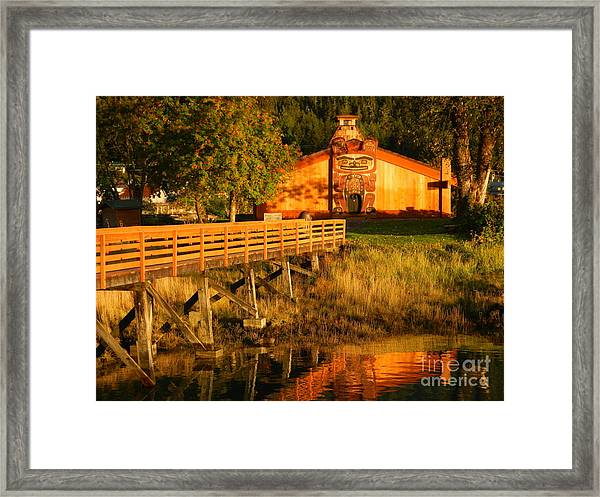 Chief Shakes House Framed Print