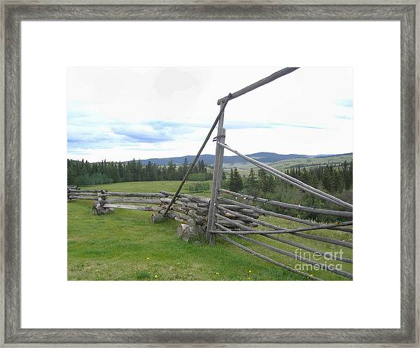 Chilcoltin Way Framed Print