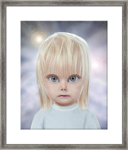 Children Of The Greys Framed Print by Jeffrey Oldham
