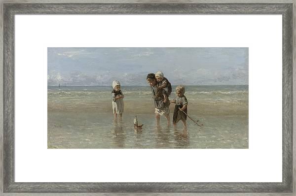 Children Of The Sea Framed Print