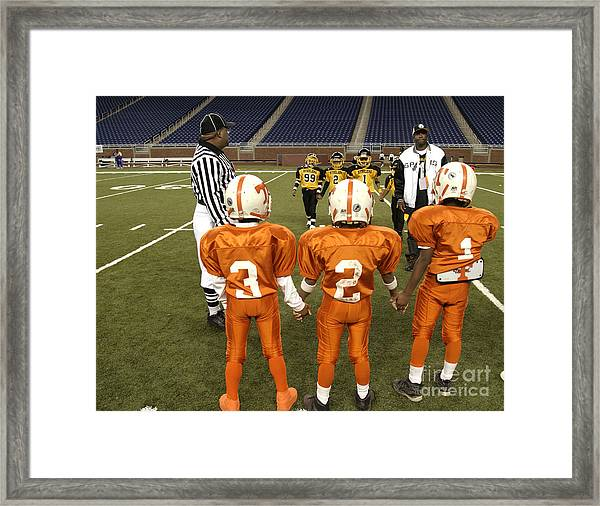 Children's Football Framed Print