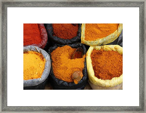 Chilli Powders 1 Framed Print