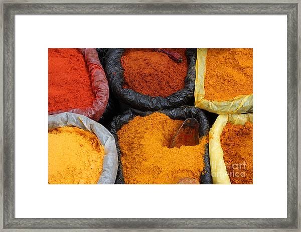 Chilli Powders 2 Framed Print