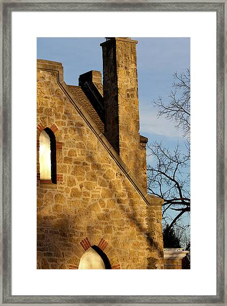 Chimney Framed Print