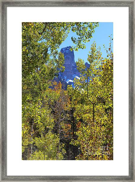 Chimney Rock Framed Print