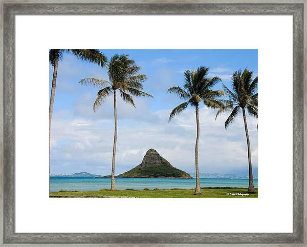 Chinaman's Hat - Oahu Hawai'i Framed Print
