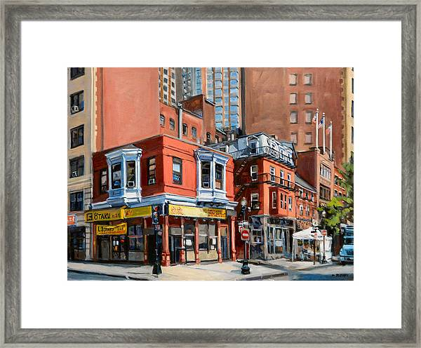 Chinatown View Framed Print