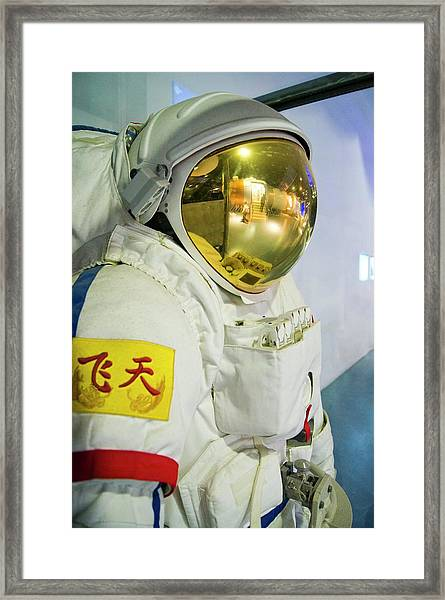 Chinese Spacesuit. Framed Print
