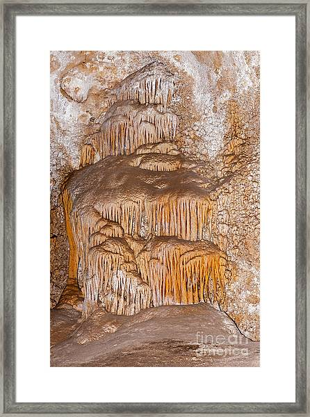 Chinesetheater Carlsbad Caverns National Park Framed Print