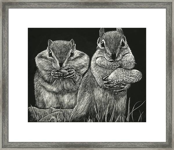 Chip 'n' Dale Framed Print
