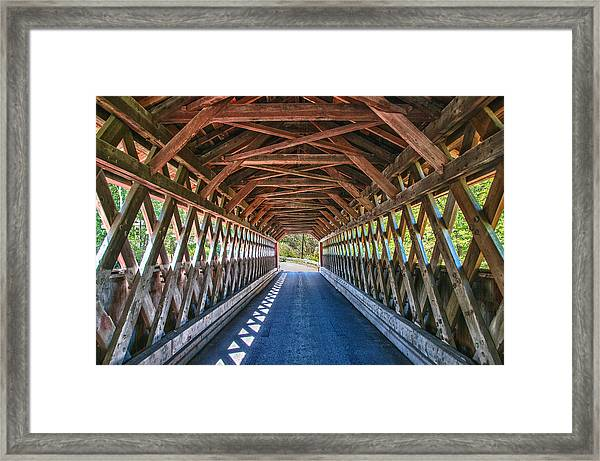Chiselville Bridge Framed Print