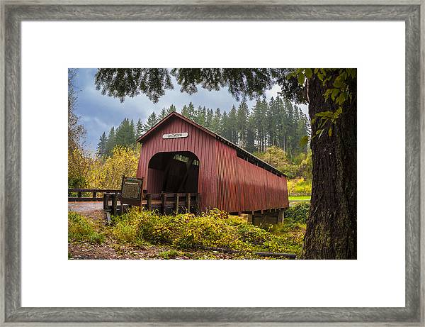 Chitwood Bridge Framed Print