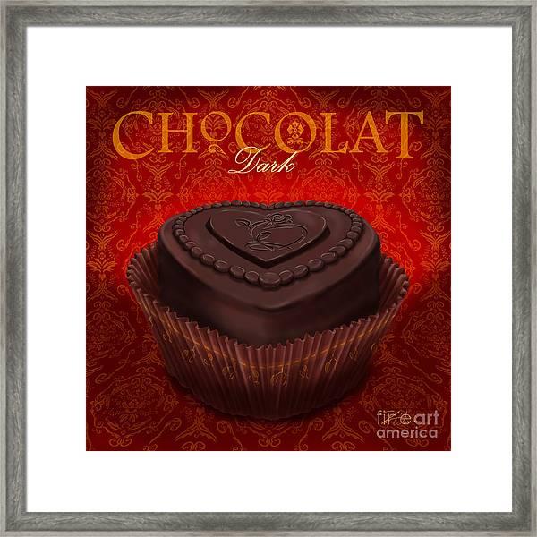 Chocolate Dark Framed Print