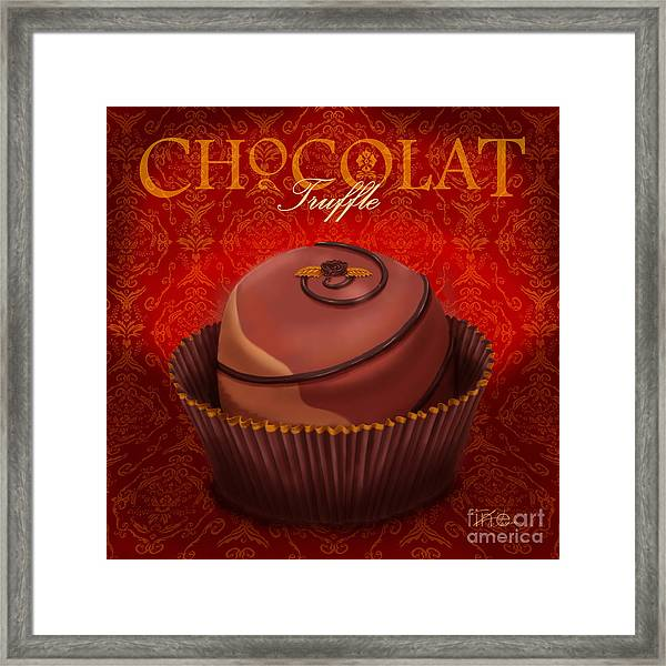 Chocolate Truffle Framed Print