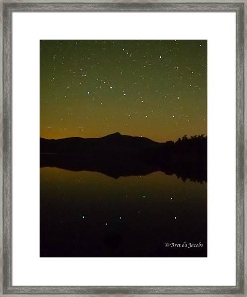 Chocorua Stars Framed Print