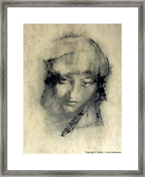 Chonchi Framed Print by Zaafra David