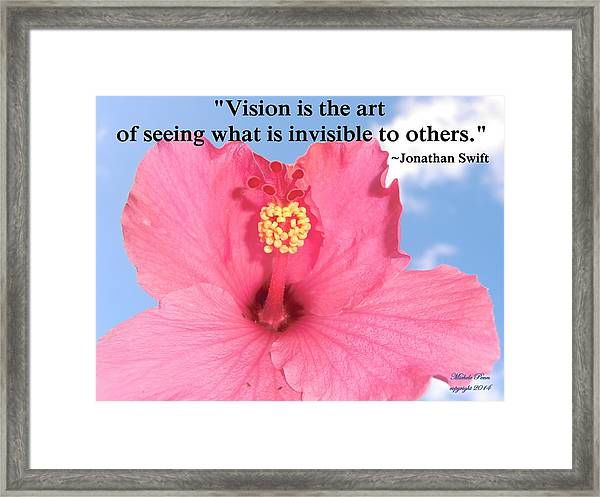 Choose Your Quote Choose Your Picture 2 Framed Print