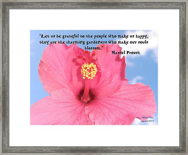 Choose Your Quote Choose Your Picture 4 Framed Print