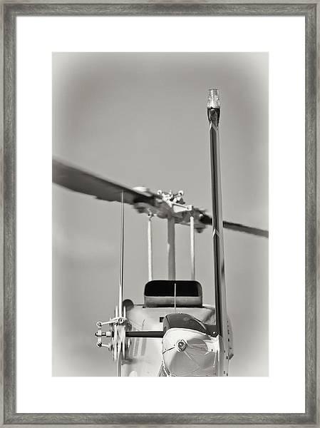 Chopper Back Framed Print