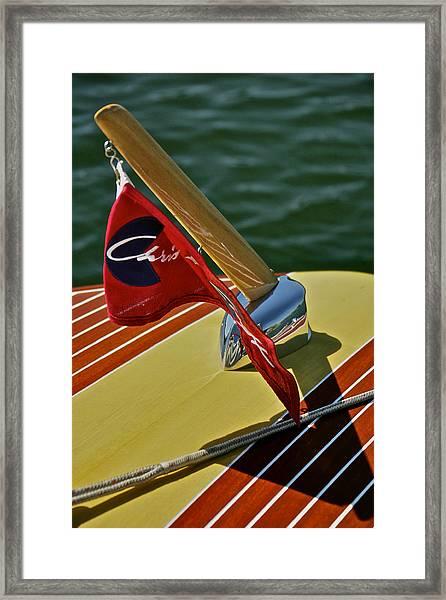 Chris Craft Classic Special Framed Print