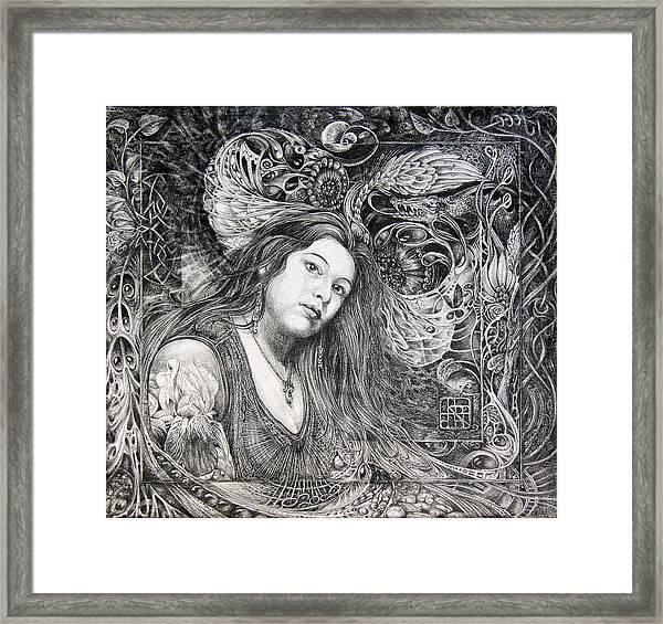 Christan Portrait Framed Print